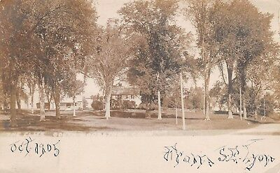 Early South Woodstock, Conn. Real Photo PC u. 1905, The Elms