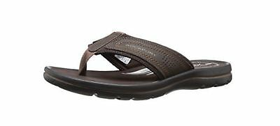 Rockport Men's Get Your Kicks Thong Sandal Coffee Stock Clearance--Size 14US