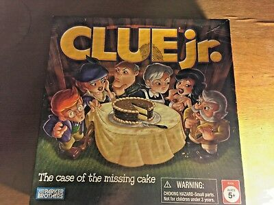 Clue Jr The Case Of The Missing Cake Board Game 599 Picclick