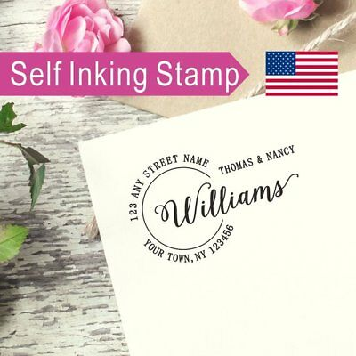 Personalized Address Stamp, Housewarming gifts, Family Address Stamp,  AS070