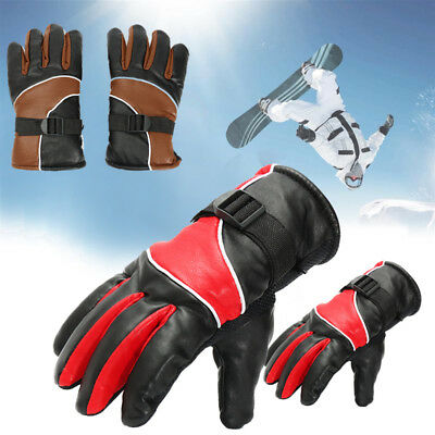 New Waterproof Heated Gloves Motorcycle Battery Powered Hunting Winter Warmer