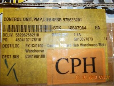 Liebherr 975625201 Load Relay 994 New In Factory Box Opened For Photos Only