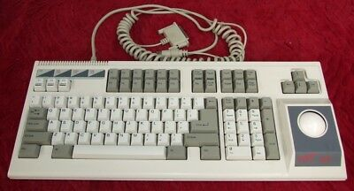 Vintage Cat 105 XT/AT switchable keyboard with trackball and clicky key switch