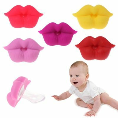 Funny Silicone Infant Feeding Pacifier Orthodontic Nipples Cute Dummy Big Mouth
