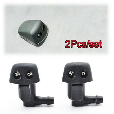 2PCS Front Windscreen Wiper Washer Nozzle Jet For Mazda 3 BK 5 2006-2010 6 GG1
