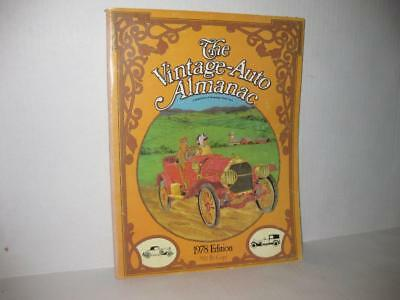 The Vintage Auto Almanac 1978 Edition Publication of Hemmings Motor News