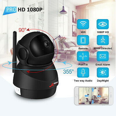 WiFi Baby Monitor Camera 1080P Two-way Audio Smart Wireless Home Secure System