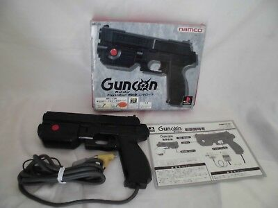 PlayStation PS1 Gun Con  Accessory controller Game JP Operation confirmed