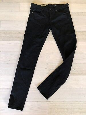 AG Adriano Goldschmied Womens Size 29  The Legging Super Skinny Jeans BLACK