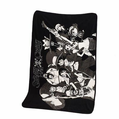 1pc 39X55inch Anime One Piece Blanket The Straw Hat Pirates Luffy Office Blanket