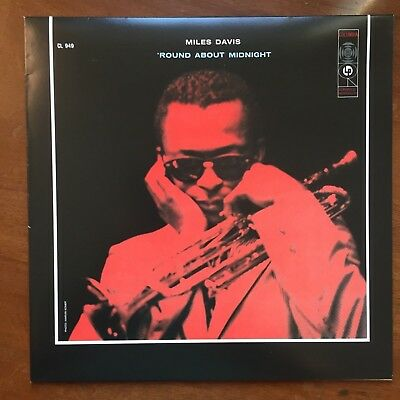 MILES DAVIS Round About Midnight Modern CL 949 6 EYE MONO 2013 Music On Vinyl