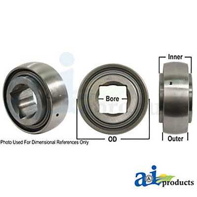 Aftermarket Disc Harrow Bearing Square Bore Replacement DS208TT11