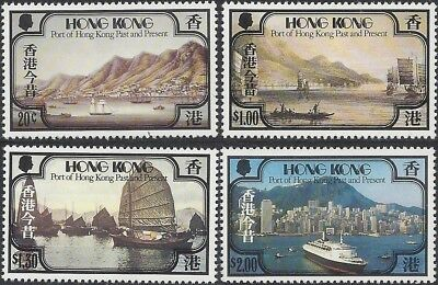 Hong Kong 1982 PORT OF HONG KONG, Past and Present (4) UNHINGED MINT SG 407-410