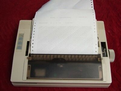 Commodore MPS-1230 dot matrix printer for C64 and Parallel Interface