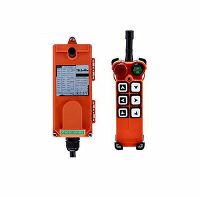 Hoist Crane Radio Industrial Wireless Remote Control with Transmitter & Receiver
