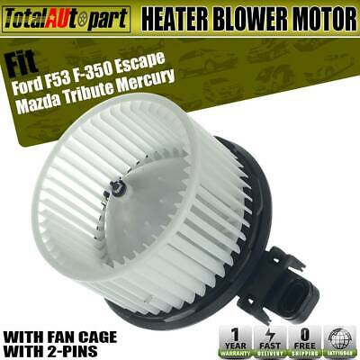 Blower Motor for Ford F53 F-350 Escape F-250 Super Duty Tribute Mariner 700223