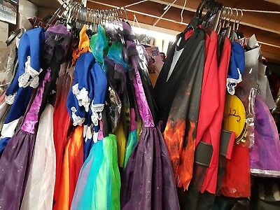 32 x NEW Halloween Costumes Outfits Bundle Childrens Job Lot sizes 1yr to 10 yrs