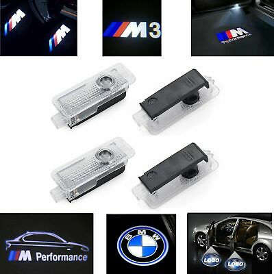 BMW LED Car Door Logo Courtesy Laser Welcome Projector Shadow Lights Lamp 2/4Pcs
