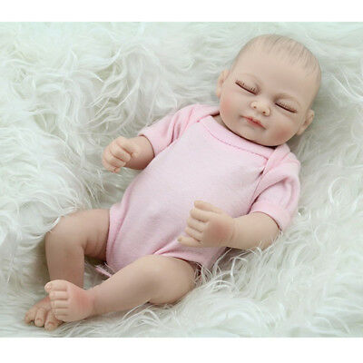 Reborn Baby Dolls Full Body Vinyl Silicone Newborn Baby Girls Doll Waterproof UK