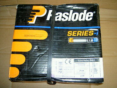 Paslode 142030 3.1 mm x 75mm  Galv Nails x 2500 and 2 Fuel Cells date till 2020