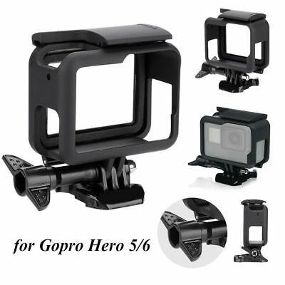 For GoPro HERO5 6 Black Protective Frame Housing Case Shell Mount Accessories