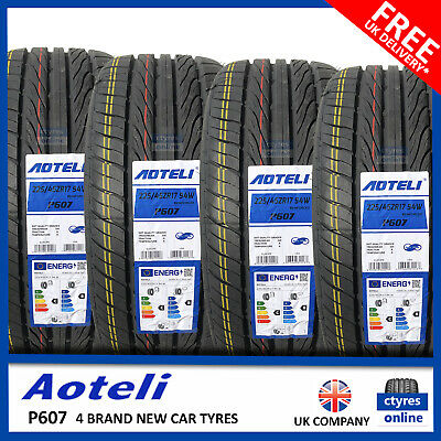 New 225 45 17 94W XL AOTELI P607 225/45R17 2254517 *B WET GRIP* (2,4 TYRES)