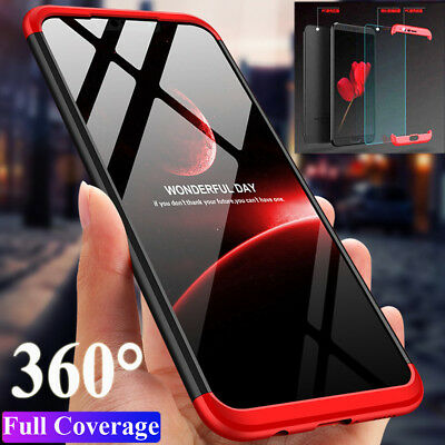Slim 360° Full Protective Armor Case Cover for Huawei Mate 20 Lite/Honor 8X Max