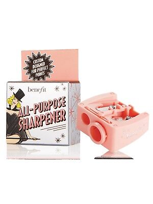 Benefit All-Purpose Pink Pencil Sharpener Make-Up Cosmetics Brows NEW