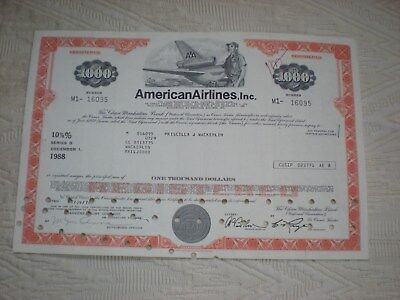 USA -    American Airlines, Inc.    1000 $   10/427