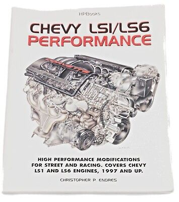 Chevy Ls1/ls6 Performance Book