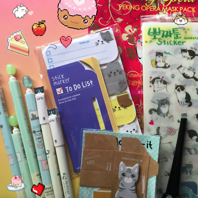 JAPANESE KAWAII BOX ♡ Stickers Stationery Sanrio Bunny Candy Sentimental Circus