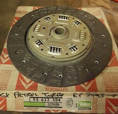 Citroen CX Petrol Turbo Clutch Disc 95632504 NEW GENUINE