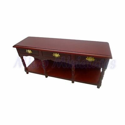 Dolls House Victorian Sideboard 1/12th Scale (00356)