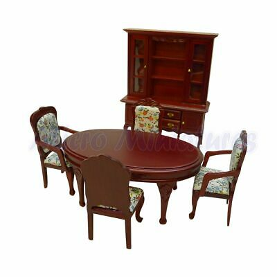 Dolls House Dining Room Set 1/12th Scale (00418)