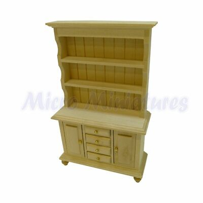 Dolls House Welsh Dresser 1/12th Scale (00435)