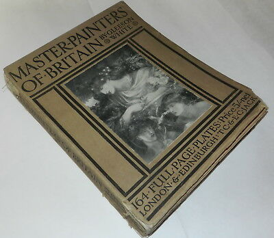 MASTER - PAINTERS OF BRITAIN by GLEESON WHITE  164 FULL PAGE PLATES LONDON  (M)