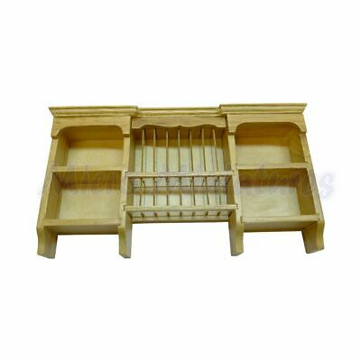 Dolls House Pine Shelf Unit 1/12th Scale (00489)