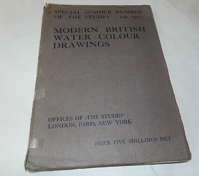 Modern British Water - Colour Drawings A. D. 1900  Special Summer Number Of  (M)