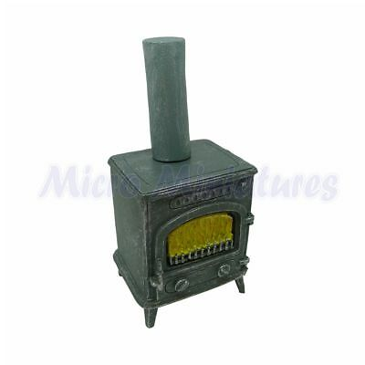Dolls House Wood Burning Stove 1/12th Scale (02174)