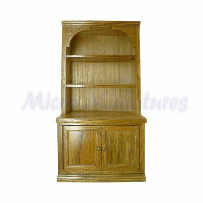 Dolls House Dark Oak Cabinet 1/12th Scale (02185)