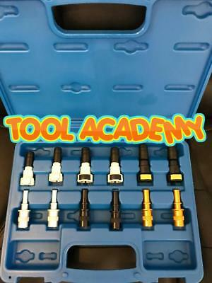 New! Seal off Fuel Disconnect Lines - Diesel Fuel Line Blanks 12pce Tool Set