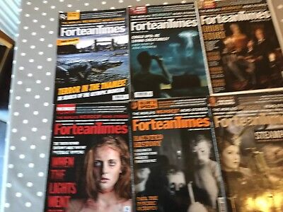 Lot of 13 FORTEAN TIMES Magazine Issues 2012 COMPLETE FREE P&P