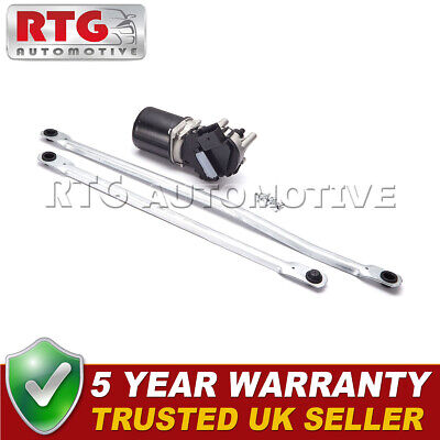 BRAND NEW Front Windscreen Wiper Motor + Linkage Rods for UK Qashqai 07-13