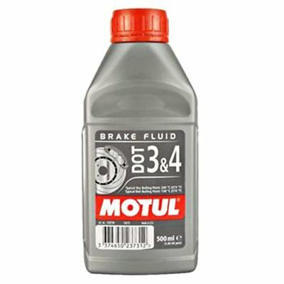 MOTUL DOT 3 4 Olio Liquido freni Auto moto 500 ml 100% Sintetico Brake Fluid