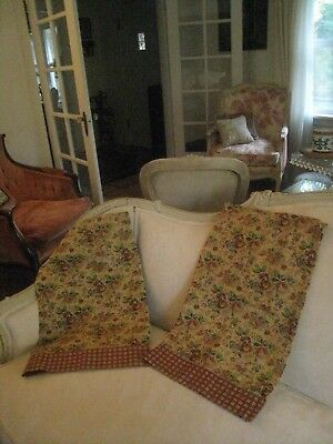 French Country ~Cafe Style Tier (Pair) Curtains