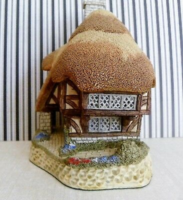"David Winter Cottages ""Pudding Cottage"" British Traditions Collection 1990 COA"