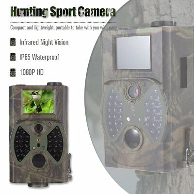 12MP Hunting Scouting Trail Camera Game Infrared Detection Farm Hunt NN