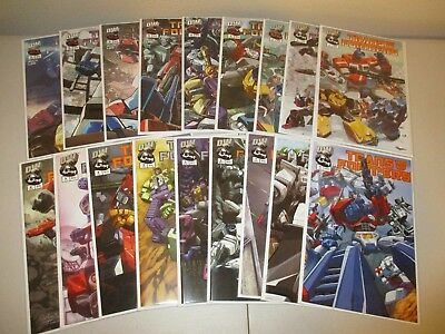 Transformers Generation 1 V1 & V2 #1-6 + Variants (Full Series, Lot of 18) one