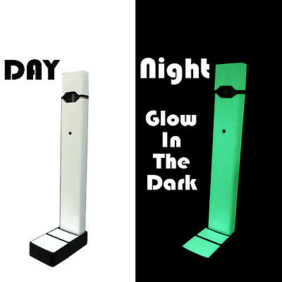 Skin Decal Wrap Skin for 4JUUL | Full Wrap Covers Everything (Glow in the Dark)