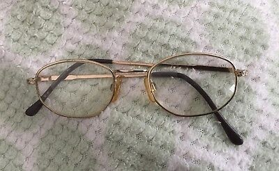 Retro Pair of Ladies Spectacle / Glasses Frames with Glass 1960s Style
